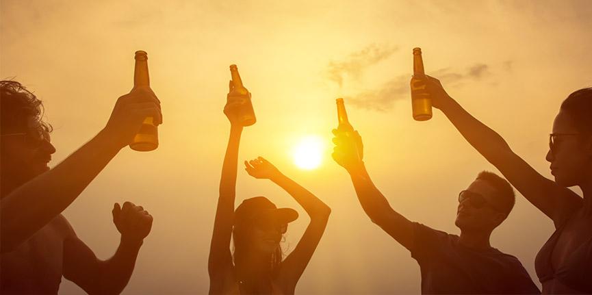 Evita en la medida de lo posible las bebidas alcohólicas