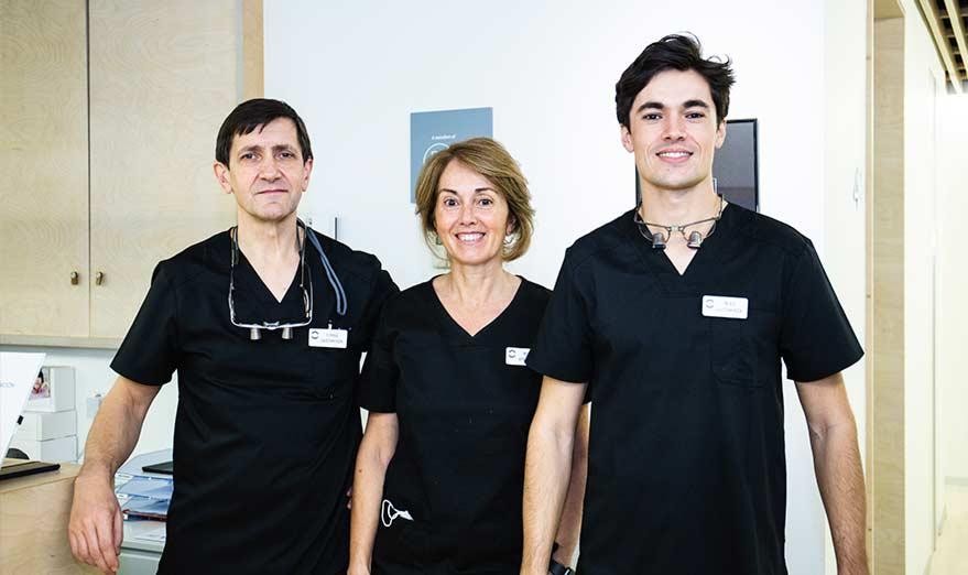 Tres generaciones de dentistas en Donostia
